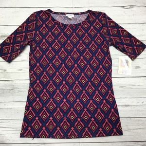 LulaRoe Gigi -XS shirt New